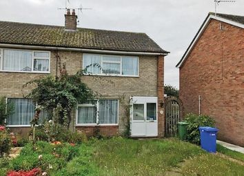 Thumbnail 2 bed semi-detached house for sale in Garden Close, Bungay