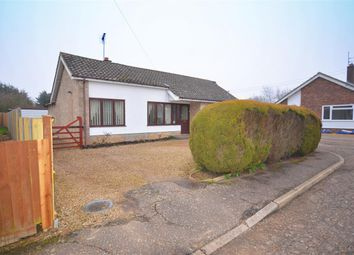 Thumbnail 4 bed bungalow for sale in Homestead Close, Lingwood, Norwich