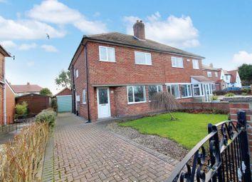 Thumbnail 3 bed semi-detached house for sale in Scholes Park Drive, Scarborough