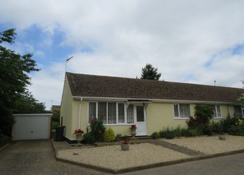 Thumbnail 3 bed semi-detached bungalow for sale in Oakdene, Wicken Green Village, Fakenham