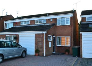 Thumbnail 3 bedroom semi-detached house to rent in Conifer Paddock, Coventry