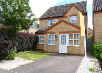 Thumbnail 3 bed detached house for sale in Kestrel Way, Sandy
