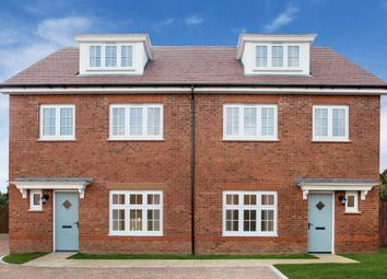Thumbnail 4 bed semi-detached house for sale in Sanderson Manor, Church Road, Hauxton, Cambridge
