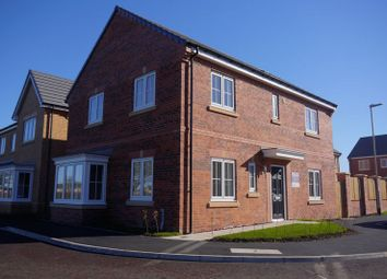 Thumbnail 4 bed detached house for sale in Red House Gardens, Netherton Lane, Bedlington