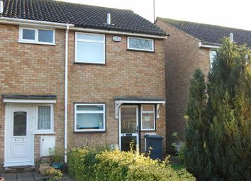 Thumbnail 2 bed semi-detached house to rent in Lullington Close, Wigmore, Luton