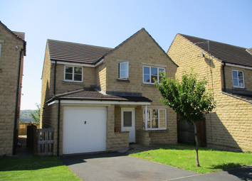 Thumbnail 4 bed detached house to rent in Tulyar Court, Bingley