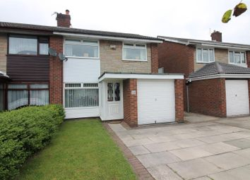 Thumbnail 3 bedroom semi-detached house for sale in Arundel Avenue, Urmston, Manchester