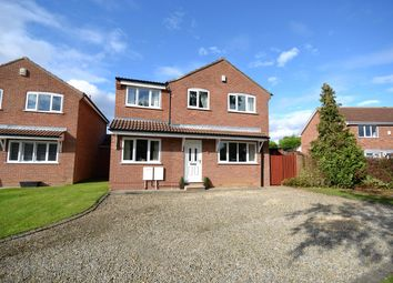 Thumbnail 4 bed detached house for sale in Dee Close, York