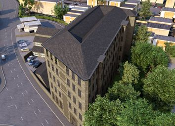 Thumbnail 1 bed flat for sale in Pellon Lane, Halifax