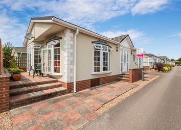 Thumbnail 2 bed mobile/park home for sale in Grove Park, Magazine Lane, Wisbech