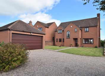 Thumbnail 4 bed detached house for sale in Risborrow Close, Etwall, Derby