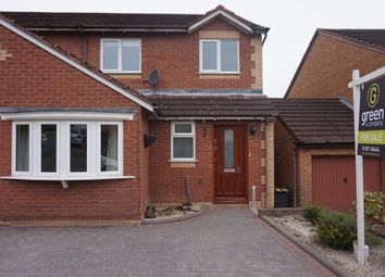 Thumbnail 3 bedroom semi-detached house for sale in The Lair, Birchmoor, Tamworth