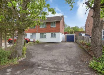 Thumbnail 4 bed semi-detached house for sale in Coombelands Lane, Addlestone