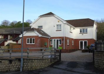 Thumbnail 5 bed detached house for sale in Birchgrove Road, Glais, Swansea