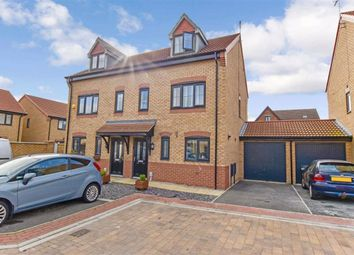 Thumbnail 3 bed semi-detached house for sale in College Gardens, West Hull, Hull