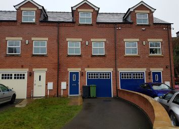 Thumbnail 3 bed town house for sale in Jaeger Close, Belper
