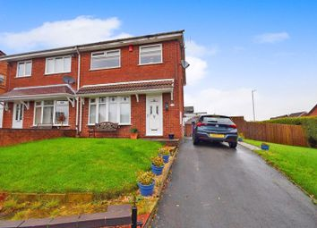 Thumbnail 3 bed semi-detached house for sale in Ledbury Crescent, Northwood, Stoke-On-Trent
