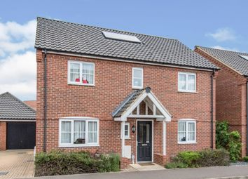 Thumbnail 4 bed detached house for sale in Spencer Crescent, Diss