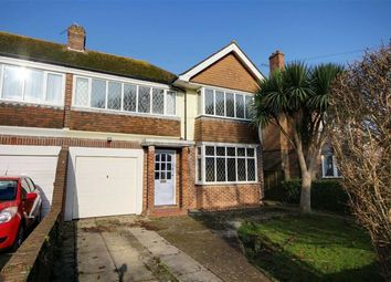 Thumbnail 4 bed semi-detached house for sale in Hailsham Road, West Worthing, Worthing, West Sussex