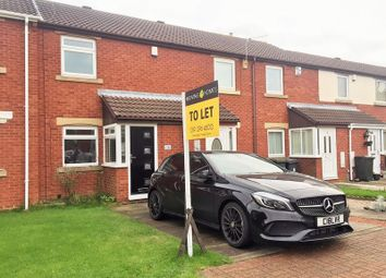 Thumbnail 2 bed terraced house to rent in Littondale, Hadrian Lodge West, Wallsend