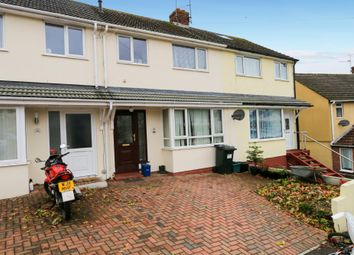 Thumbnail 3 bed terraced house for sale in Carew Gardens, Newton Abbot