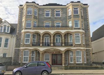 Thumbnail 1 bed flat to rent in Edgcumbe Avenue, Newquay, Cornwall