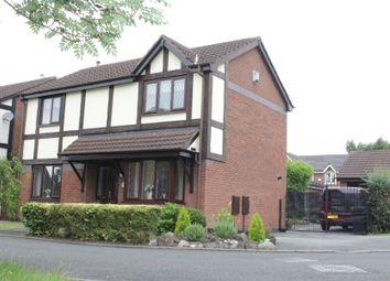 Thumbnail 3 bed detached house for sale in Freckleton Close, Great Sankey, Warrington