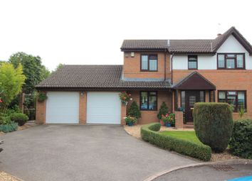 Thumbnail 4 bed detached house for sale in Vicarage Gardens, Marshfield