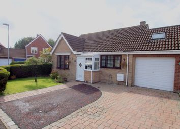 Thumbnail 2 bed detached bungalow for sale in Willow Close, Wymondham