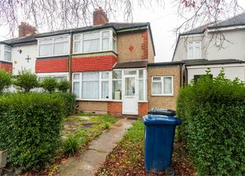 Thumbnail 3 bed end terrace house for sale in Federal Road, Perivale, Greenford