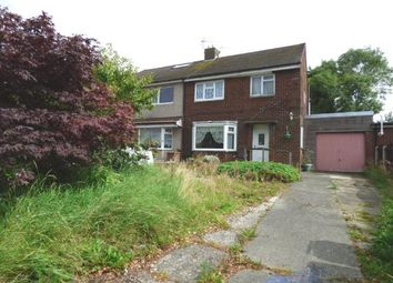 Thumbnail 3 bed semi-detached house for sale in Thorntrees Avenue, Lea, Preston, Lancashire