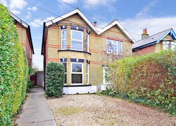 Thumbnail 3 bed semi-detached house for sale in Church Road, Gurnard, Cowes, Isle Of Wight