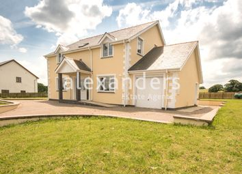 Thumbnail 4 bed detached house for sale in Moriah, Capel Seion, Aberystwyth