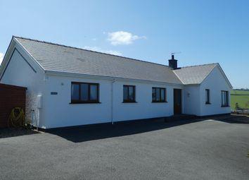 Thumbnail 4 bed detached bungalow for sale in Ffordd Y Goetre, Aberaeron