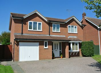 Thumbnail 4 bed detached house for sale in The Brambles, Bourne, Lincolnshire