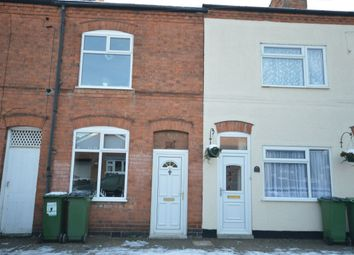 Thumbnail 2 bed terraced house for sale in Rawson Street, Enderby, Leicester