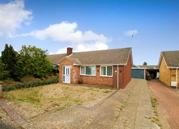 Thumbnail 3 bed semi-detached bungalow for sale in Malvern Close, Rushmere St Andrew, Ipswich