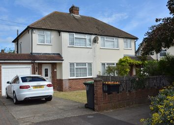 Thumbnail 3 bed semi-detached house to rent in Wendover Drive, Bedford