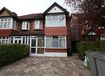 Thumbnail 4 bed semi-detached house to rent in Castleton Avenue, North Wembley