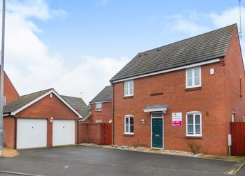Thumbnail 4 bedroom detached house for sale in Boughton Road, Corby