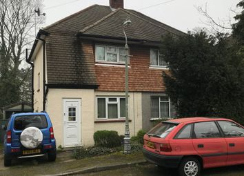 Thumbnail 2 bed semi-detached house for sale in Yewdale Close, Bromley, Kent