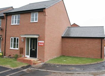 Thumbnail 3 bed semi-detached house to rent in Levetts Close, Stenson Fields, Derby