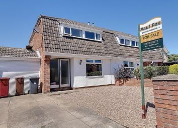 Thumbnail 3 bed semi-detached house for sale in Airedale Close, Broughton, Brigg