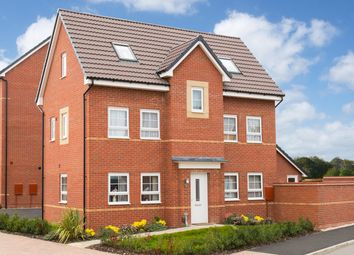 """Thumbnail 4 bedroom detached house for sale in """"Hesketh"""" at Musselburgh Way, Bourne"""