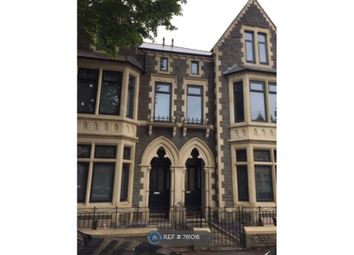 Thumbnail 2 bed flat to rent in Connaught Road, Cardiff