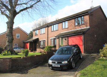 Thumbnail 4 bedroom semi-detached house for sale in The Paddock, Hollingworth, Hyde
