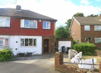 Thumbnail 3 bed semi-detached house for sale in Bedfont Close, Feltham