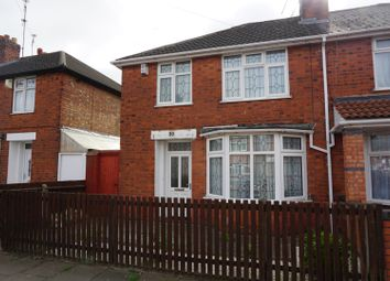 Thumbnail 3 bed semi-detached house for sale in Kitchener Road, Leicester