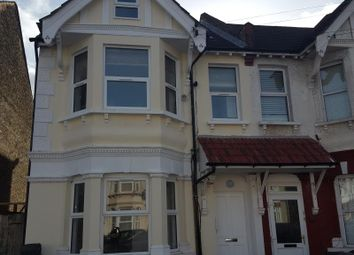 Thumbnail 3 bed flat to rent in Broughton Road, Thornton Heath, Croydon
