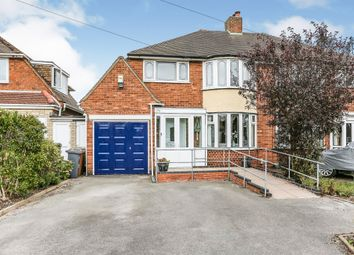 Thumbnail 3 bed semi-detached house for sale in Windleaves Road, Castle Bromwich, Birmingham